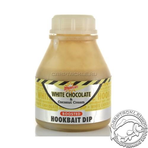 Дип Dynamite Baits White Chocolate & Coconut Cream 200ml Белый Шоколад с Кокосовым кремом