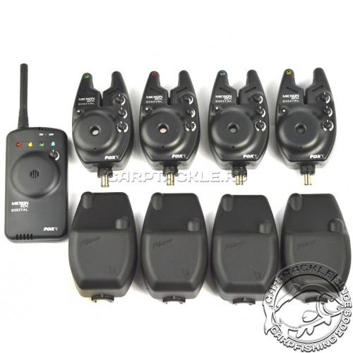 Набор сигнализаторов FOX RX Micron Set 4 Rod