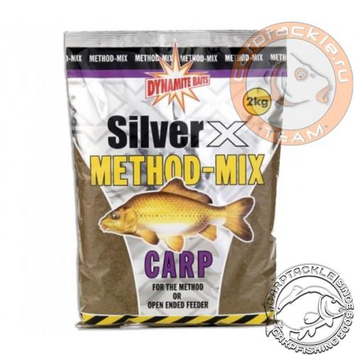 Прикормочная смесь Dynamite Baits Silver X Method-Mix Carp 2kg
