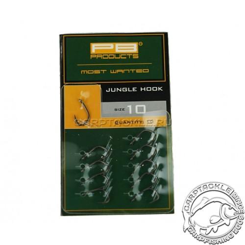 Крючки карповые PB Products Jungle Hook №10 DBF