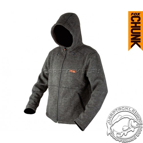 CHUNK™ Heavy Sherpa Hoody - Small толстовка на молнии с капюшоном