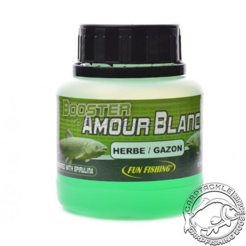 Дип Fun Fishing Amour Blanc Booster Herbe Gazon 100ml