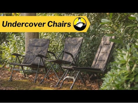 Solar Undercover Camo Bedchair