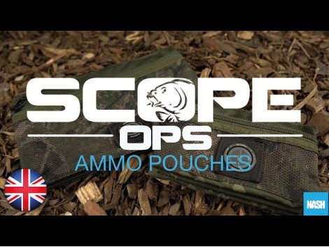 NASH SCOPE OPS AMMO POUCH T3787 T3788