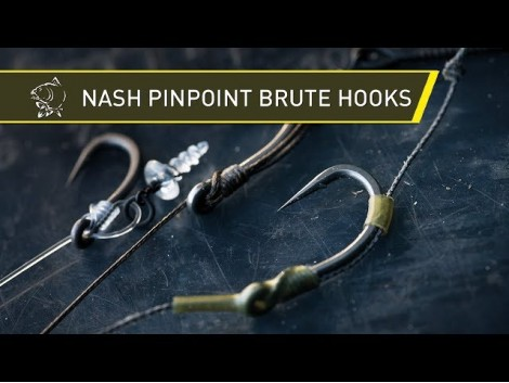 NASH PINPOINT BRUTE HOOKS